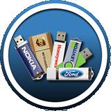 flash-size usb drives